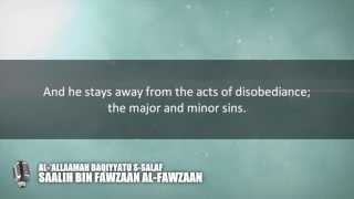 How does the Muslim actualize Tawheed? | Shaykh Saalih al-Fawzaan