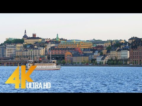 4K Urban Life Short Preview - Cities of the World: Stockholm, Sweden