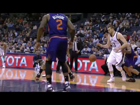 Marc Gasol vs Suns (8 - 2 - 2017)