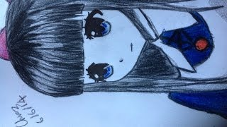 Drawing Aya from mad father (how to draw as well)