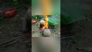 Tôm hấp trái dừa siêu bựa và cái kết bất ngờ| Thánh bựa  Ăn vặt vlog|