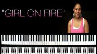 Alicia KeysGIRL ON FIREA MUST SEE