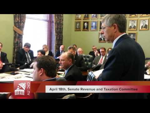 Senate Revenue and Taxation Committee, April 18th,