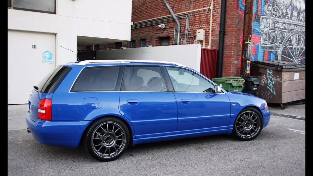 Modified Audi B5 S4 Avant  One Take  YouTube
