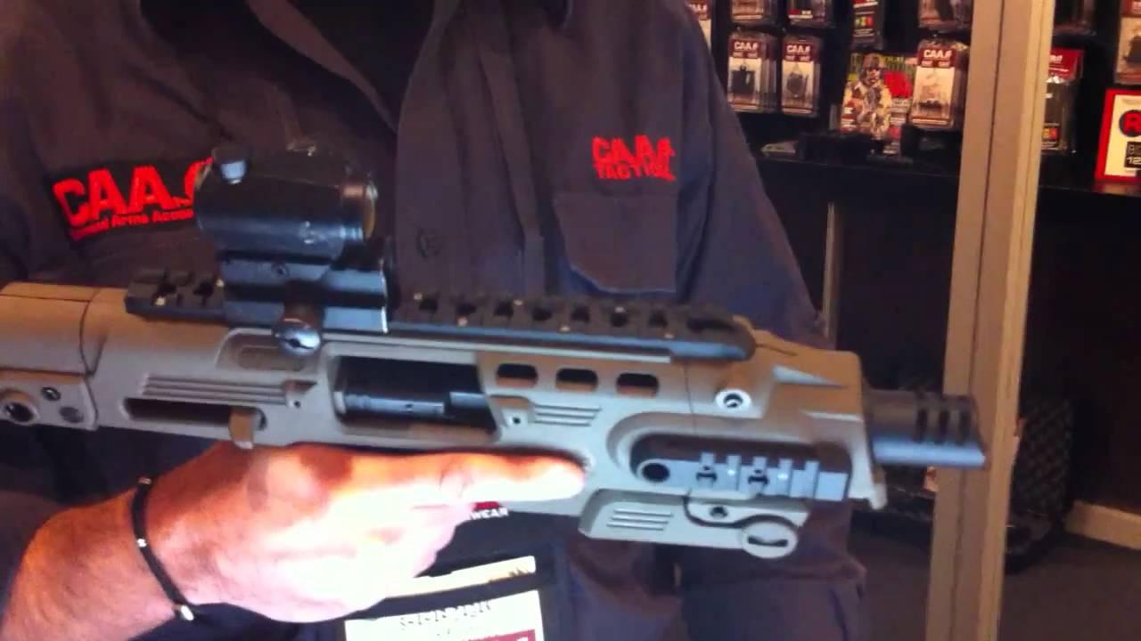 RONI Glock Pistol-Crbine Conversion Kit Explained  Ish
