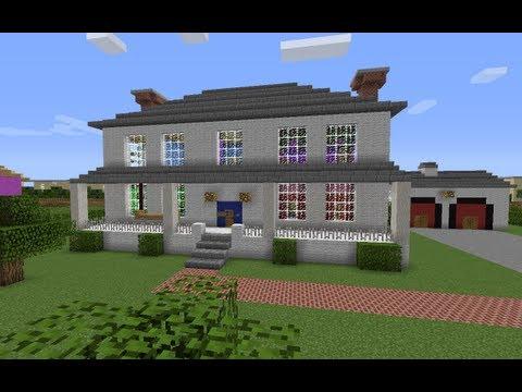 Minecraft: Former President Bush's House Tour