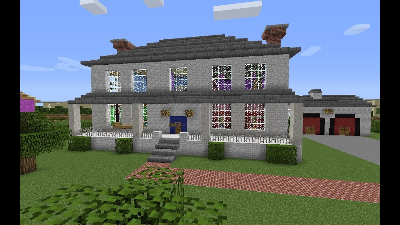 Minecraft former president bush 39 s house tour youtube for Video home tours