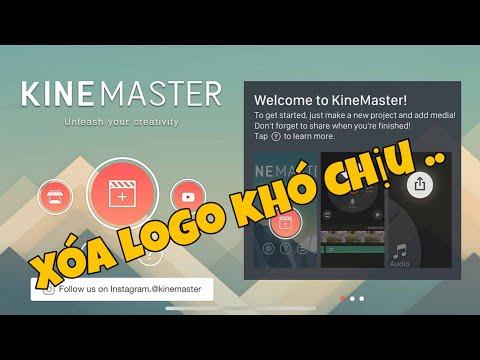 Cách Xóa Logo KineMaster dễ dàng nhất| XUYÊN ƯI