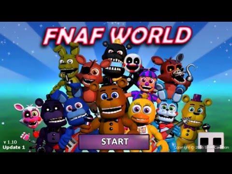 3D FNAF World Remake!