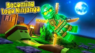 HOW TO BECOME A LEGO NINJAGO WARRIOR! - w/TinyTurtle