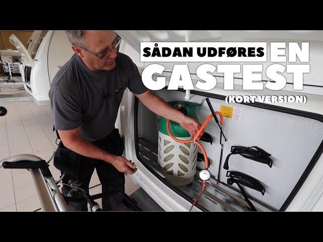 Sådan udføres en gastest (kort version)