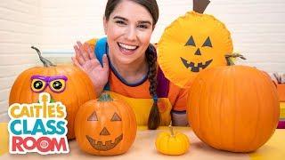 Let's Make A Jack O'Lantern! - Caitie's Classroom Live