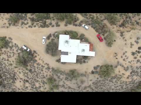 Drone Flight Above Carefree, AZ