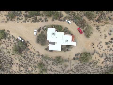 Drone Flight Above Carefree, AZ