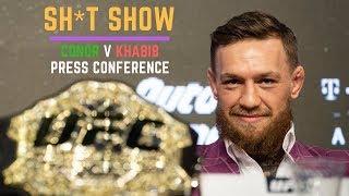 Conor McGregor v Khabib Nurmagamedov - Press Conference UFC 229 (SH*T SHOW)