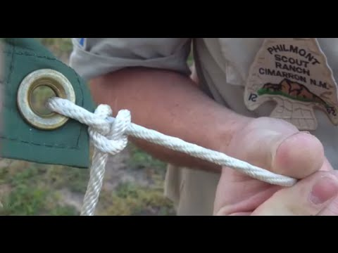 How To Tie Two Half Hitches