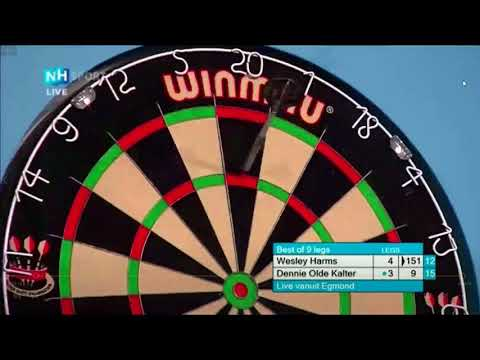 Wesley Harms 151 checkout to win.