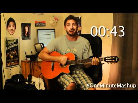 Green Day in a Minute - One Minute Mashup #8