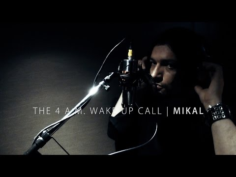 MIKAL - The 4 A.M. Wake Up Call | Studio & Lyric Video - In Michael Jackson's Thriller Studios