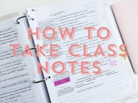 HOW TO TAKE NOTES: The Cornell Method