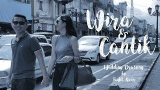Baixar Wira & Cantik Couple Wedding Drawing