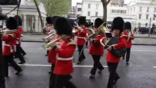 State Opening of Parliament 2013 Part 1 ~ The Band of the Irish Guards ~