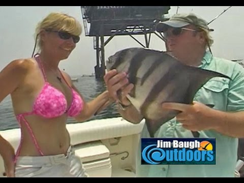 How To Catch Spade Fish At The Chesapeake Light Tower Jim Baugh Outdoors TV