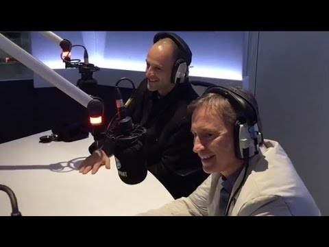 Robert Carlyle and Jonny Lee Miller on the  Alan Brazil Sports Breakfast