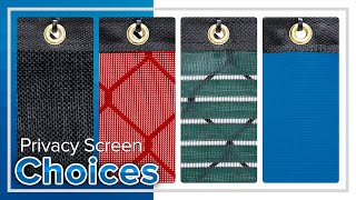 Fence Screen - What Kind Should I Buy?(, 2014-10-23T17:31:57.000Z)