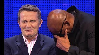 BRADLEY WALSH CAN'T STOP LAUGHING (PART 3) - THE CHASE