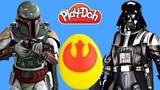 play doh star wars the clone wars surprise egg playdough lightsaber r2 d2 tmnt mashems