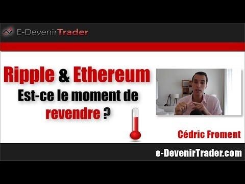 Ripple et Ethereum, est-ce le moment de vendre ? (+ prédiction pour 2020 sur l'EUR/USD)