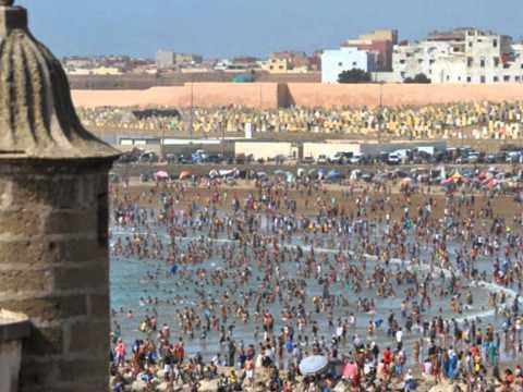 Ville de Rabat d'hier et d'aujourd'hui Maroc