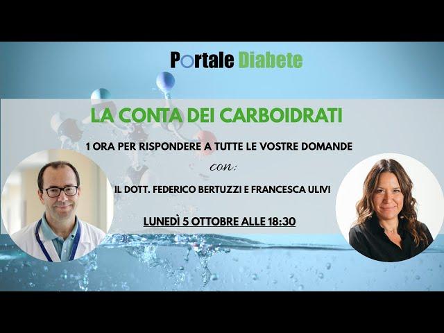La conta dei carboidrati con il dottor Federico Bertuzzi