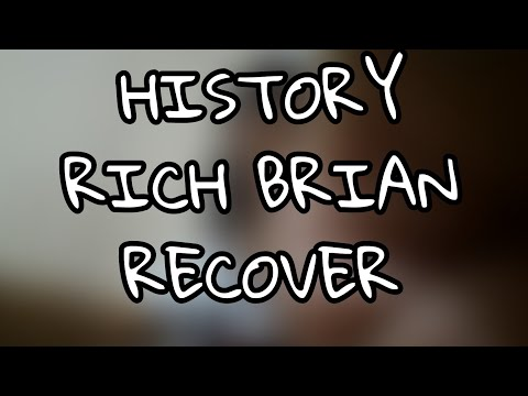 RICH BRIAN-HISTORY- RE COVER