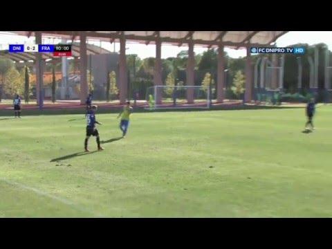 «Днепр» — «Франкфурт» - 0:2. Весь матч