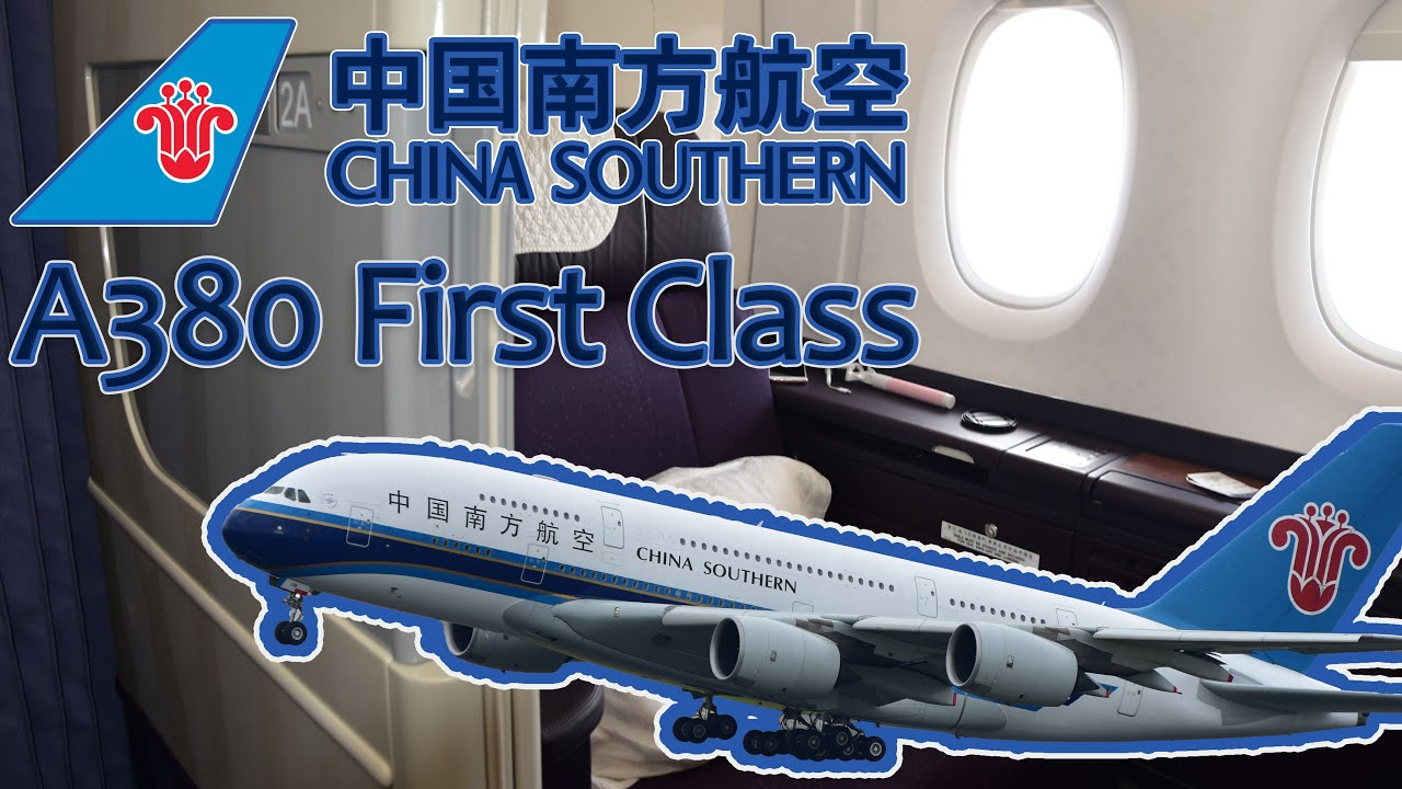 China Southern Airlines A380 First Class Flight Youtube