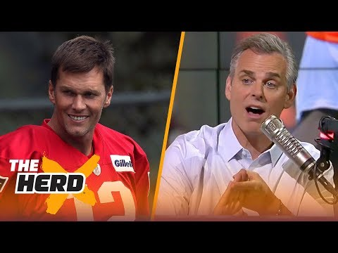Colin on the ease of playing with Brady, the Raiders considering trading Mack  NFL  THE HERD