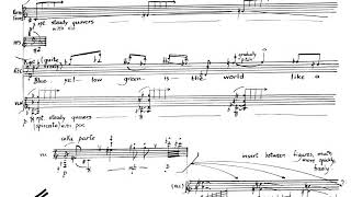 Peter Maxwell Davies - Eight Songs for a Mad King for Baritone and Ensemble (1969) [Score-Video].mp3
