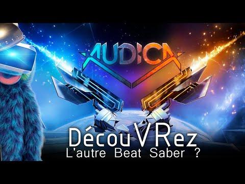 DécouVRez : AUDICA | L'autre Beat Saber ? | Version PSVR / PS4 Pro | VR Singe