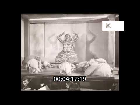 1920s London Cabaret Dance, Asian Inspired, Indian Dance, HD