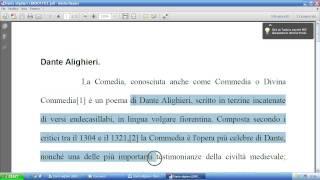 A.S.C.D. Azzurra: Corso di Informatica di Base - Lezione 4 - 23/03/2013