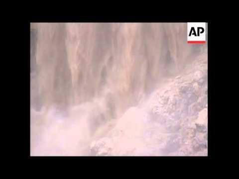 ISRAEL: FLASH FLOODS HIT NEGEV DESERT