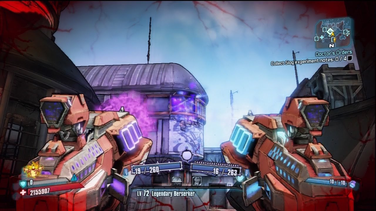 borderlands 2 gunzerker save