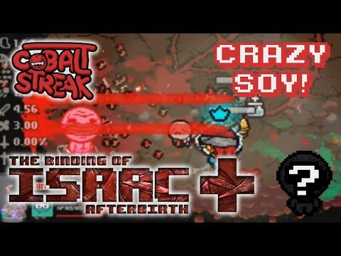 Afterbirth+ Random Streaks! 14-0 - Crazy Soy - Cobalt Streak