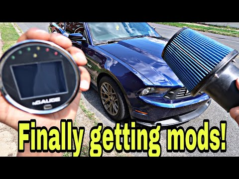 My 5.0 mustang finally gets performance mods!