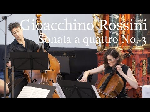 Gioacchino Rossini: Sonata a Quattro No. 3