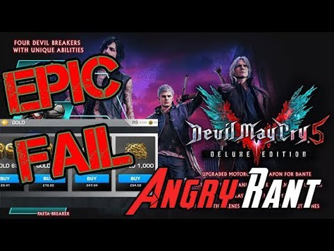 Devil May Cry 5 has Microtransactions!? thumbnail