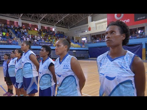 Marist Volleyball Womens 2018 Final - Water Authority Fiji vs Army