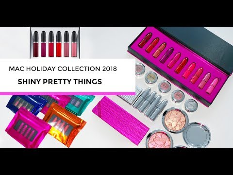 MAC holiday collection 2018: SHINY PRETTY THINGS | What's in it & swatches